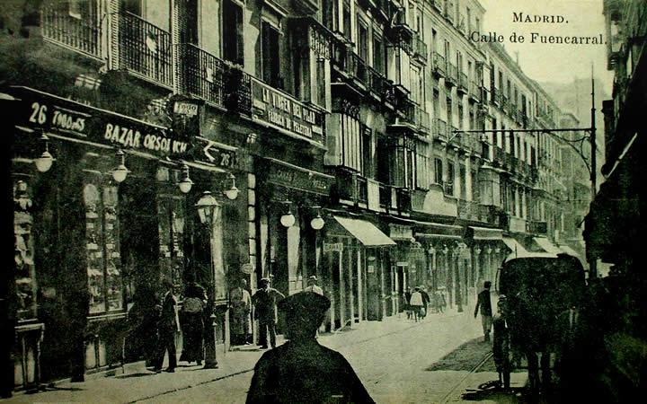 Calle de Fuencarral , Madrid