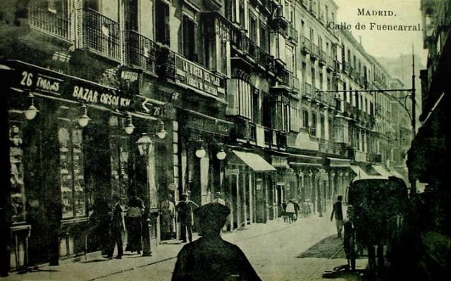 Calle Fuencarral antigua