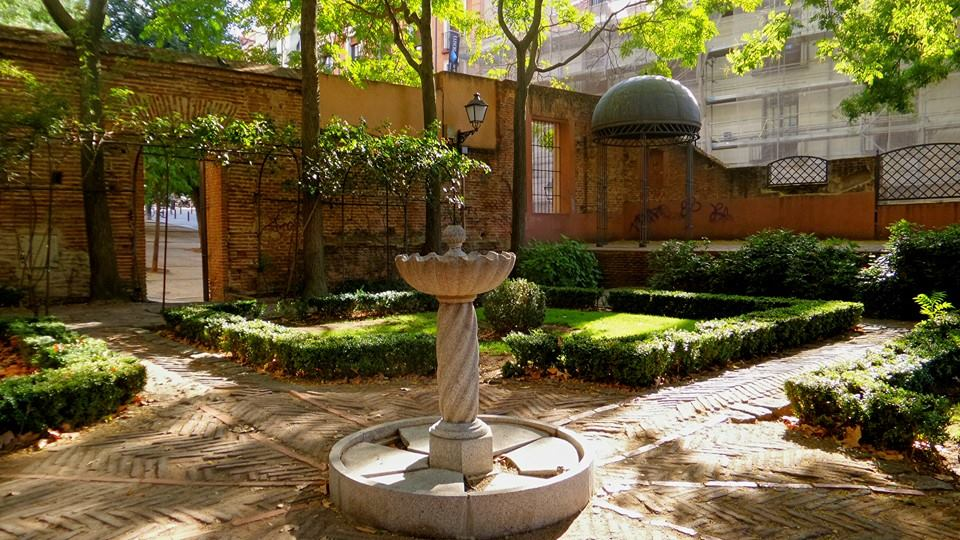 El rincon con más encanto de Madrid, el Jardín del Príncipe de Anglona