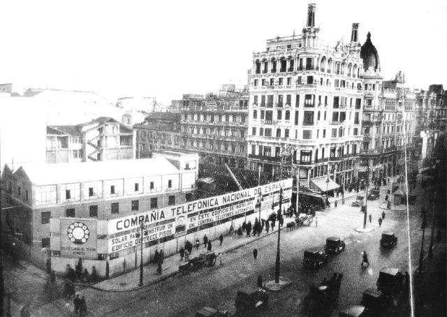 Avenida de Pi y Margall, en 1925, Madrid