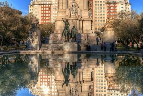 La postal de la semana: La Plaza de España