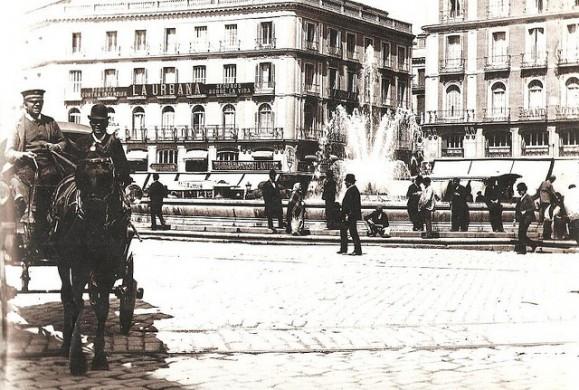 Fotos antiguas: La Puerta del Sol en 1890