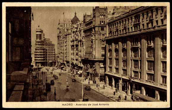 Avenida de José Antonio, Madrid