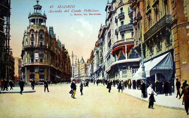 Avenida del Conde Peñalver, Madrid
