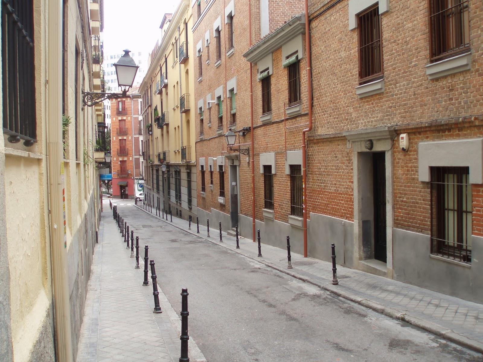 Calle de Manuel, en Madrid