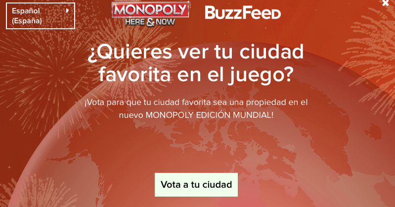 Monopoly Edición Mundial, Madrid