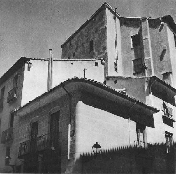 Casa de la Cruz del Palo, en Madrid