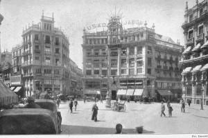 Plaza de Canalejas, Jean Laurent, Madrid