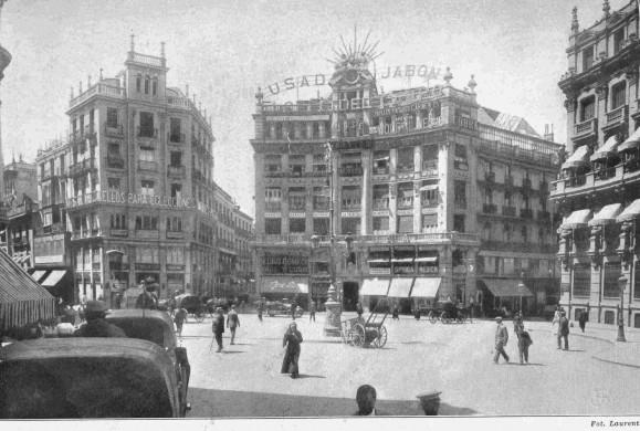 Fotos antiguas: La Plaza de Canalejas