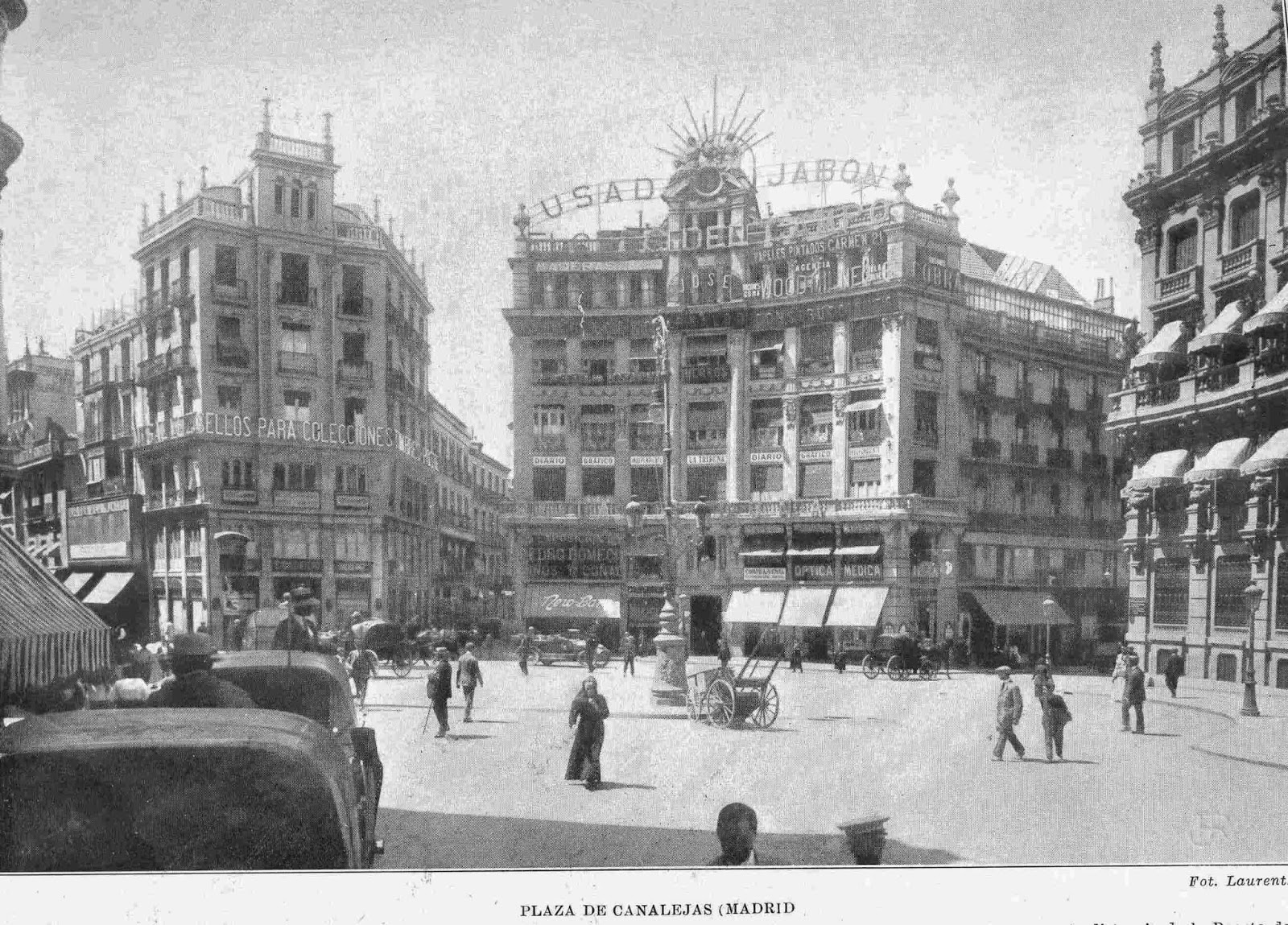 Plaza de Canalejas, Jean Laurent, Madrid