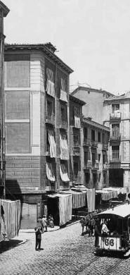 Calle de Toledo en 1890, Madrid