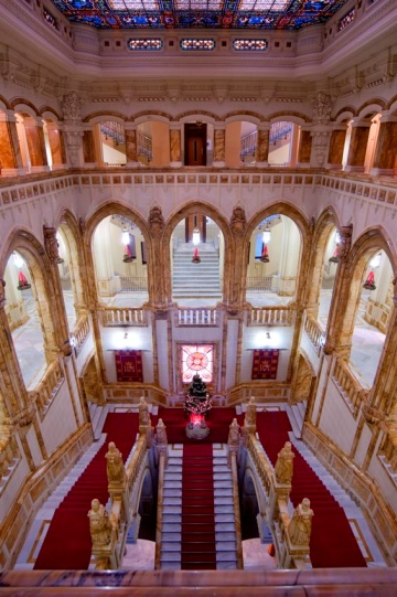 Escalera Cuartel General de la Armada, Madrid