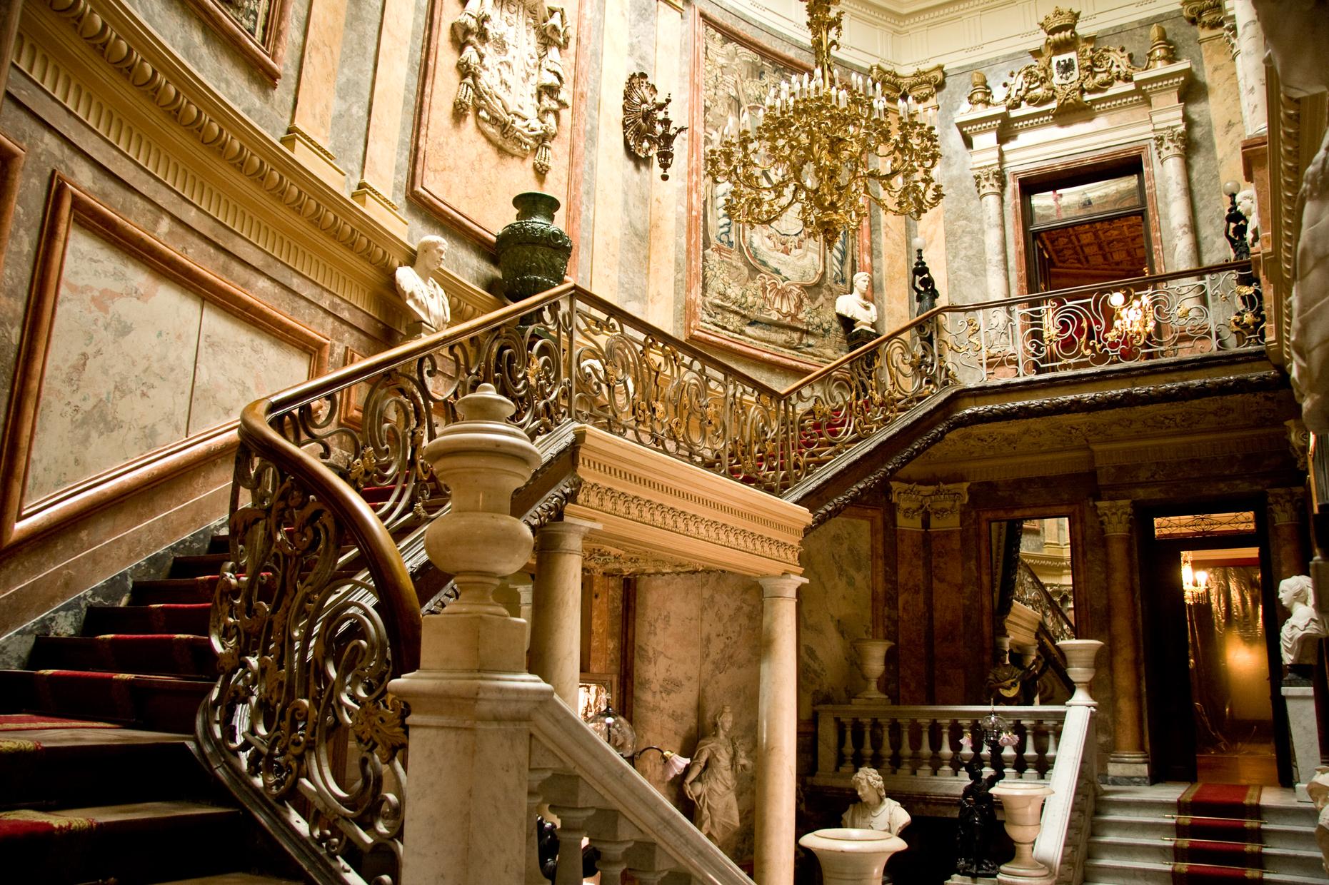 Escalera Museo Cerralbo