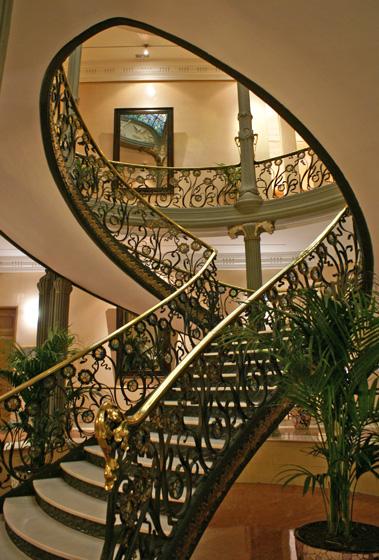 Escalera Palacio de Longoria, Madrid