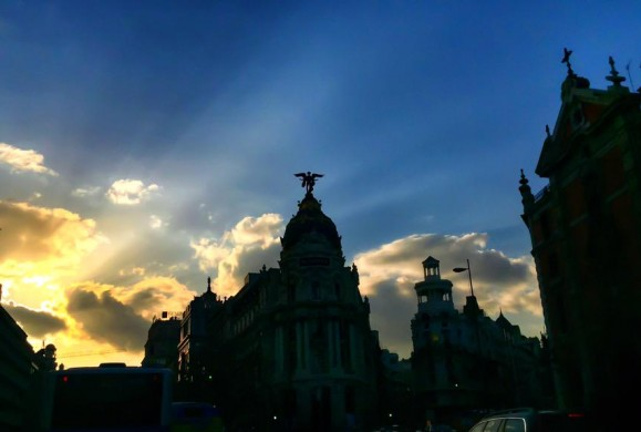 Postal de la Semana: Madrid entre sombras