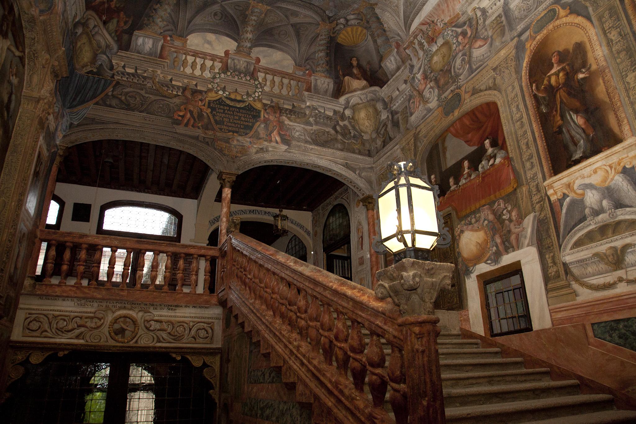 Escalera convento Descalzas Reales, Madrid