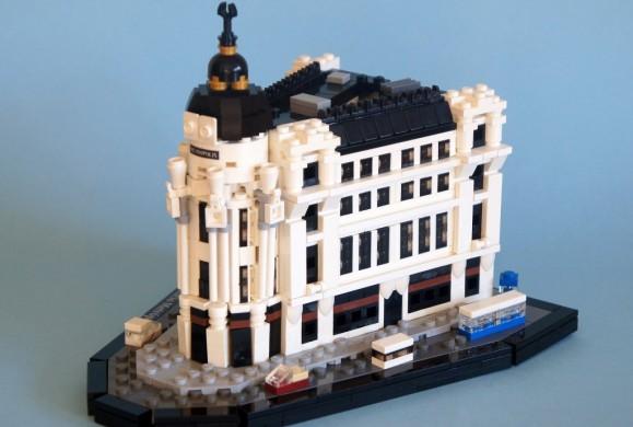 Un Madrid construido con LEGO