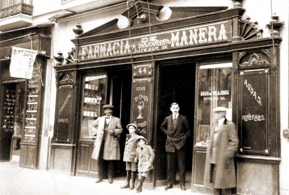 Fotos antiguas: Comercios antiguos de Madrid