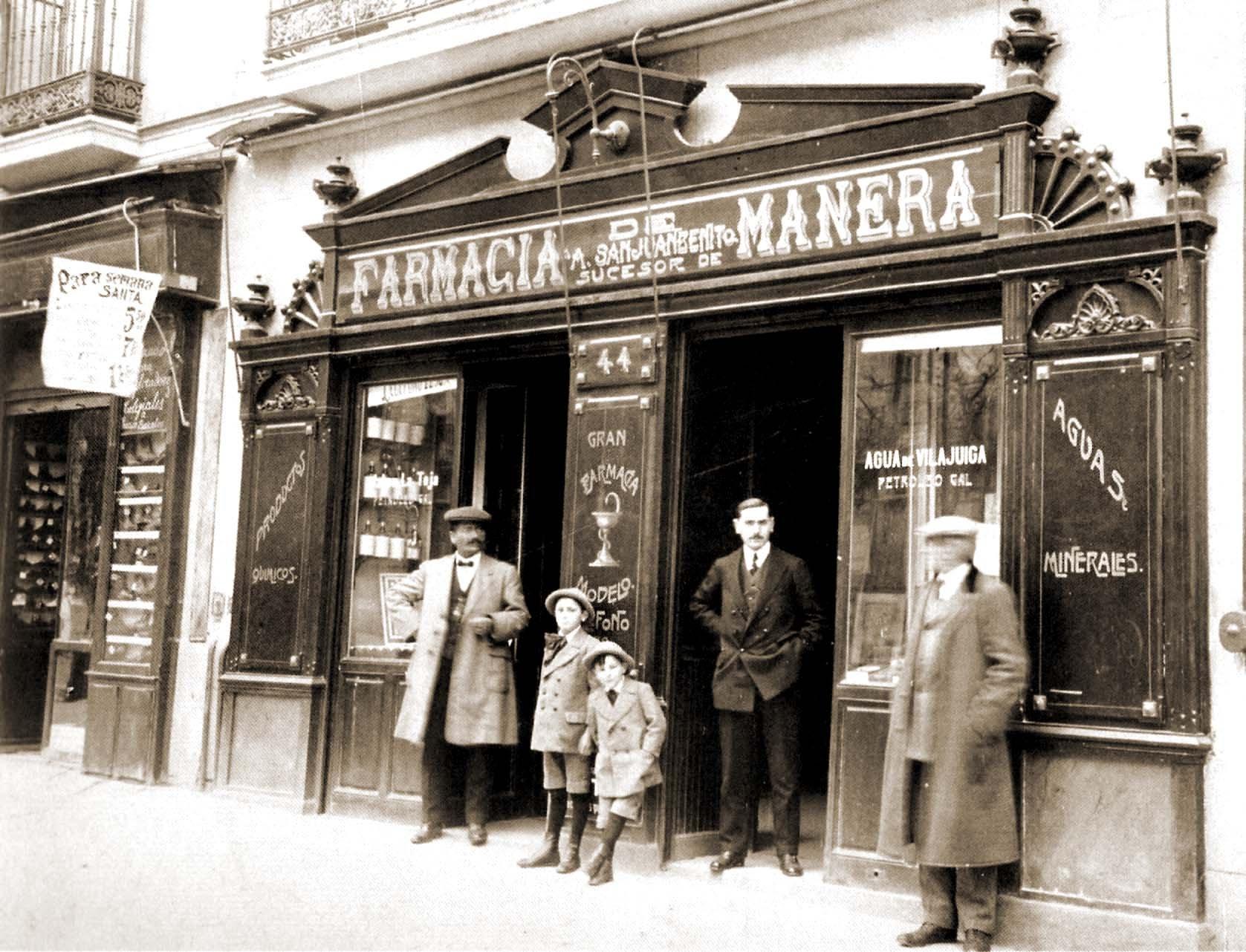 Farmacia de la Calle Serrano, 1905. Madrid