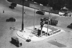 Estación de Atocha, 1952, Madrid