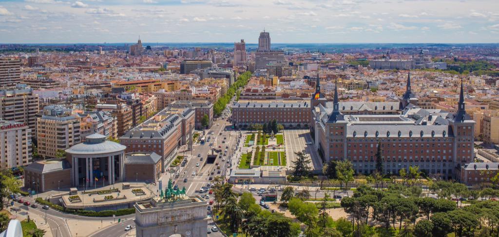 Faro de Moncloa Madrid, foto de Adrián Herrero