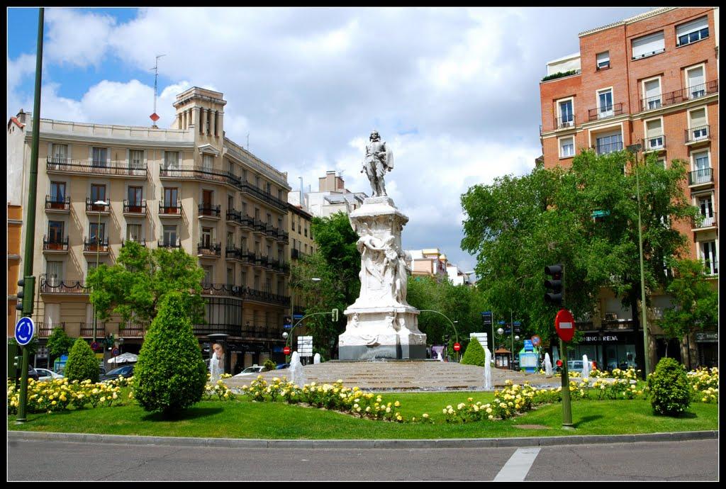 Glorieta de Quevedo, en Madrid