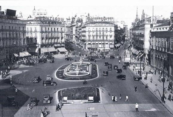 Fotos antiguas: La Puerta del Sol
