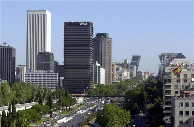 Torre BBVA en Madrid