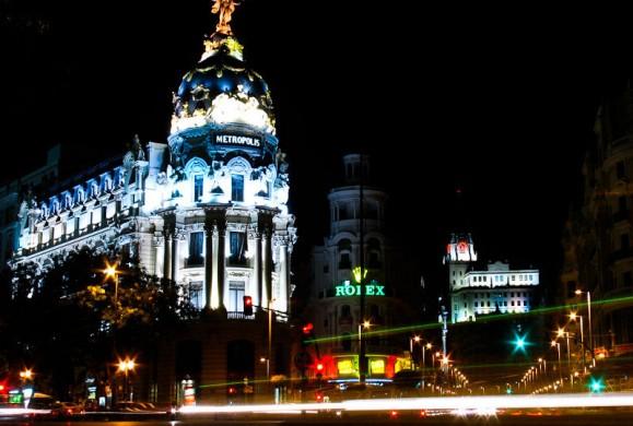 Postal de la semana: El faro de Madrid