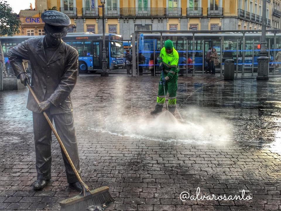 Fotografia barrenderos Alvaro Santos, Madrid