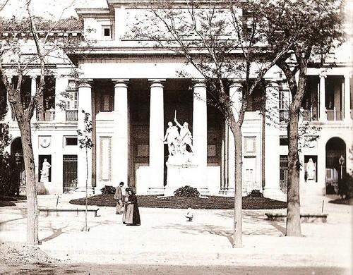 Fotos antiguas: El Museo del Prado en 1890