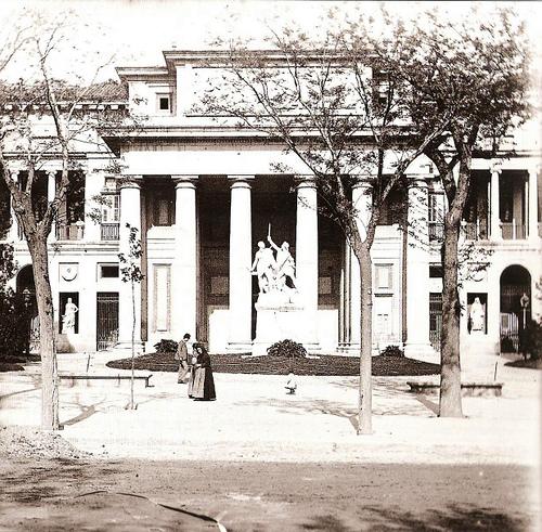 Museo del Prado en 1890. Madrid