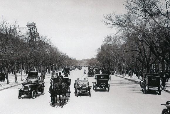 Fotos antiguas: El Paseo de Recoletos