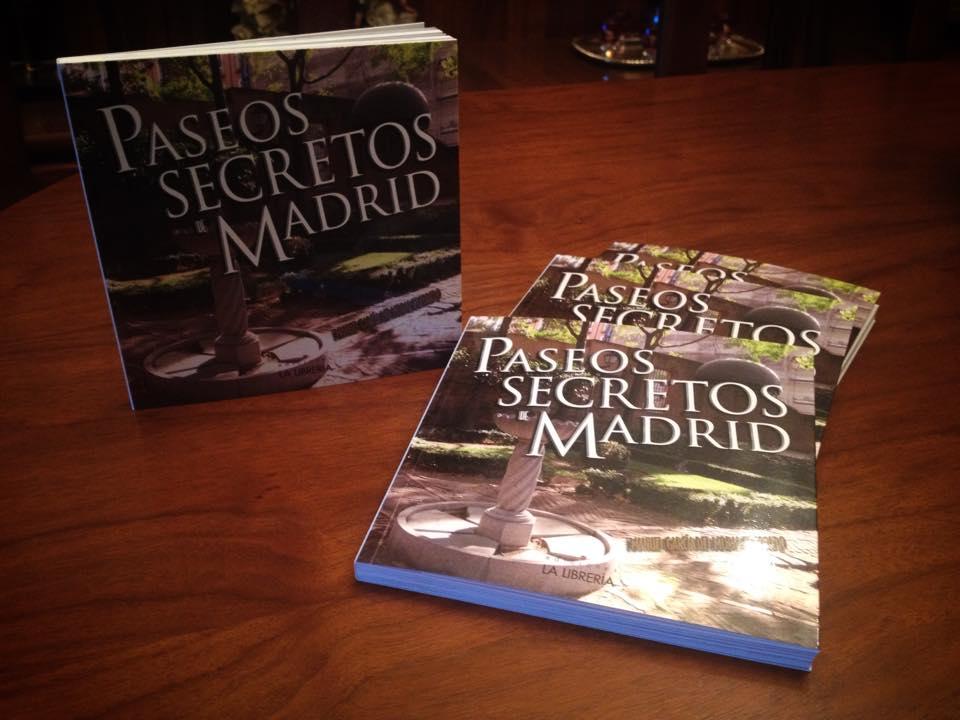 Libro de Paseos Secretos de Madrid