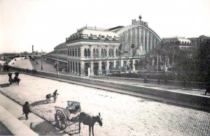 Estación de Atocha en 1929, Madrid