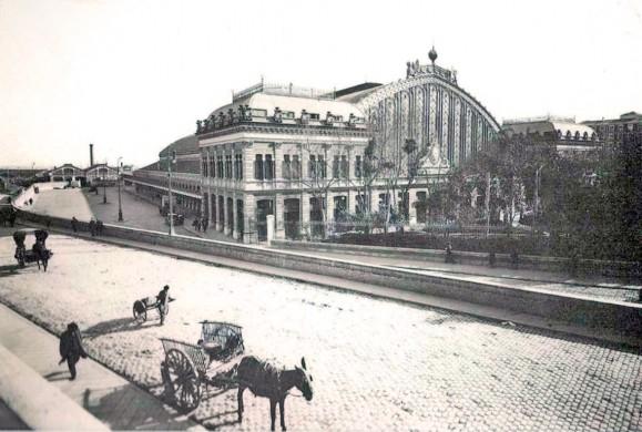 Fotos antiguas: La Estación de Atocha
