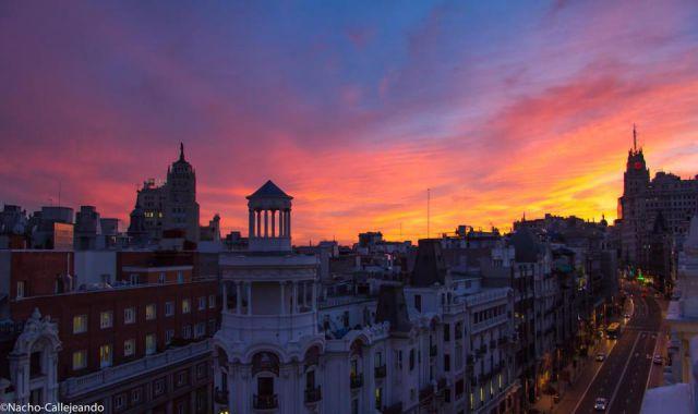 Cielo de Madrid
