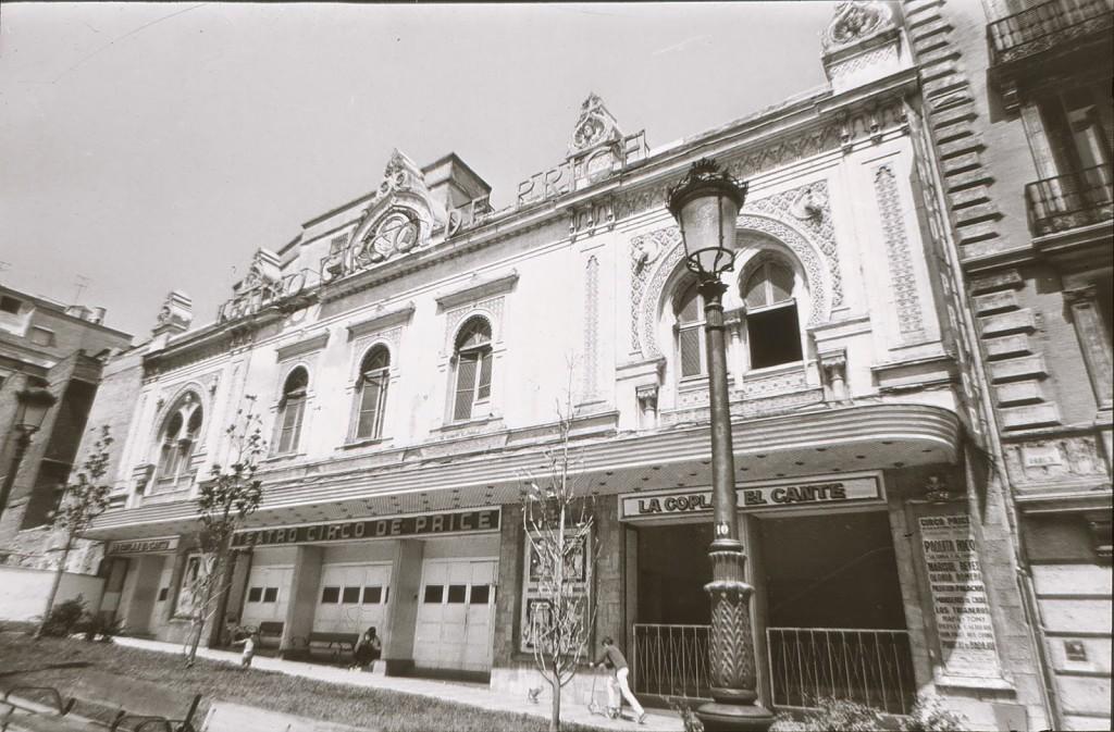 Circo Price en la Plaza del Rey