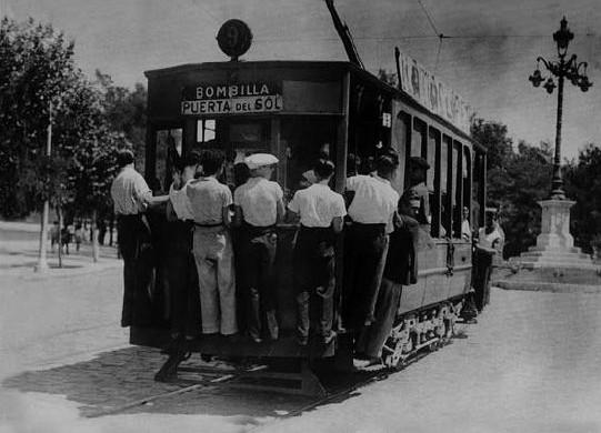 101 años de tranvía en Madrid