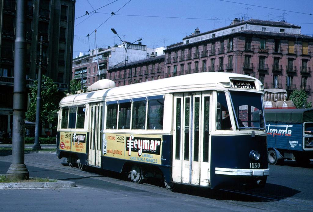 Último tranvía en Madrid, 1972