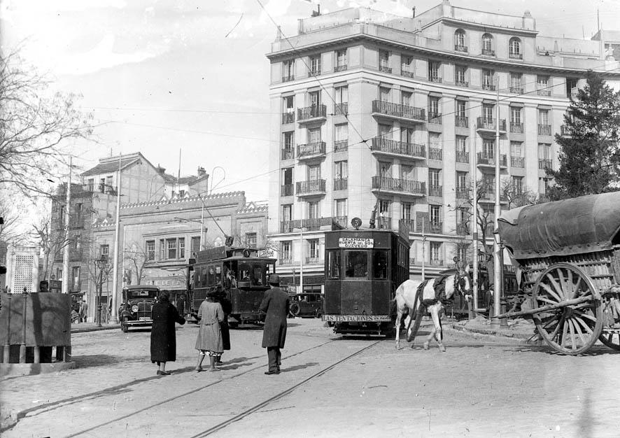 Glorieta de Ruiz Jiménez 1922, Madrid