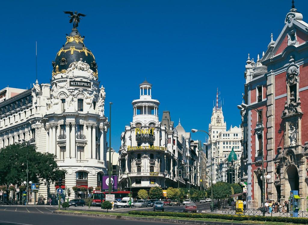 Inicio Gran Vía, Madrid