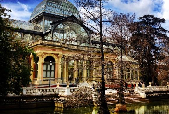 Postal de la semana: el Palacio de Cristal
