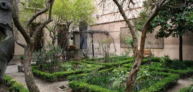 Huerto Casa de Lope de Vega, en Madrid