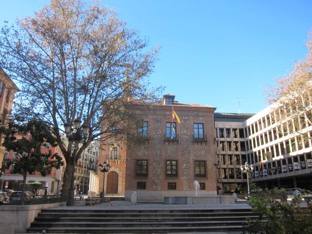 Plaza del Rey, en Madrid