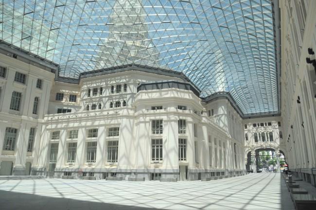 Galería de Cristal, en Madrid