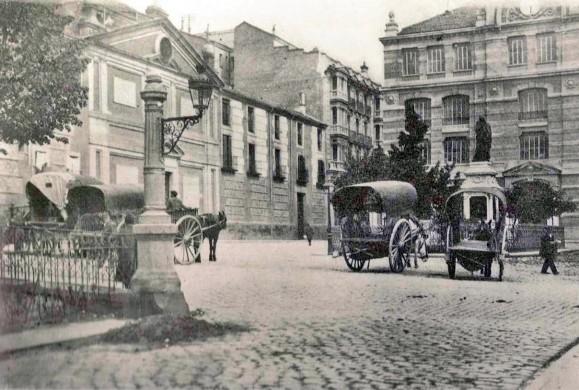 Fotos Antiguas: Plaza de las Descalzas Reales, 1920
