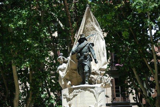 Monumento del Cabo Noval, en Madrid