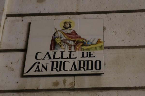 La Calle de San Ricardo, en Madrid
