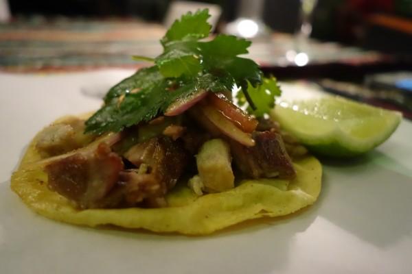'Streetfood' mexicano en el Hotel Villa-Magna . Madrid